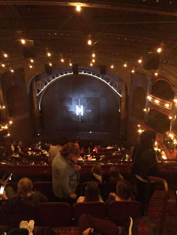 Lyric Theatre, section: Balcony C, row: E, seat: 117