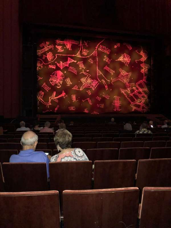 Kansas City Music Hall, section: Center Orchestra, row: P, seat: 23