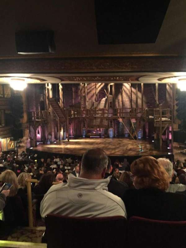 Richard Rodgers Theatre, section: Orchestra R, row: T, seat: 4