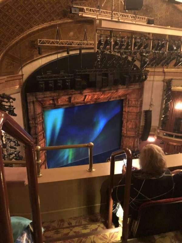 St. James Theatre, section: Mezzanine L, row: B, seat: 31