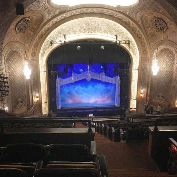 Paramount Theatre (Seattle), section: Mezzanine 32, row: X, seat: 9