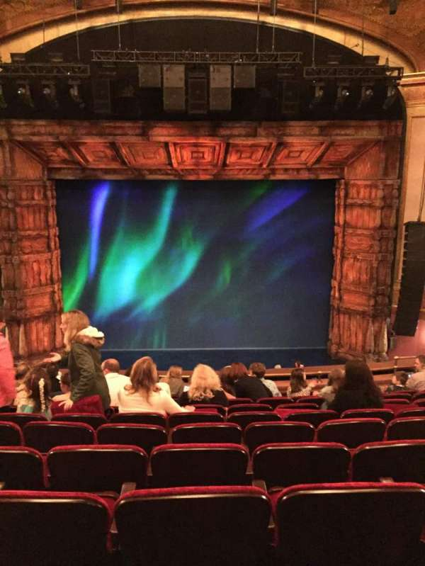 St. James Theatre, section: Mezzanine C, row: K, seat: 110