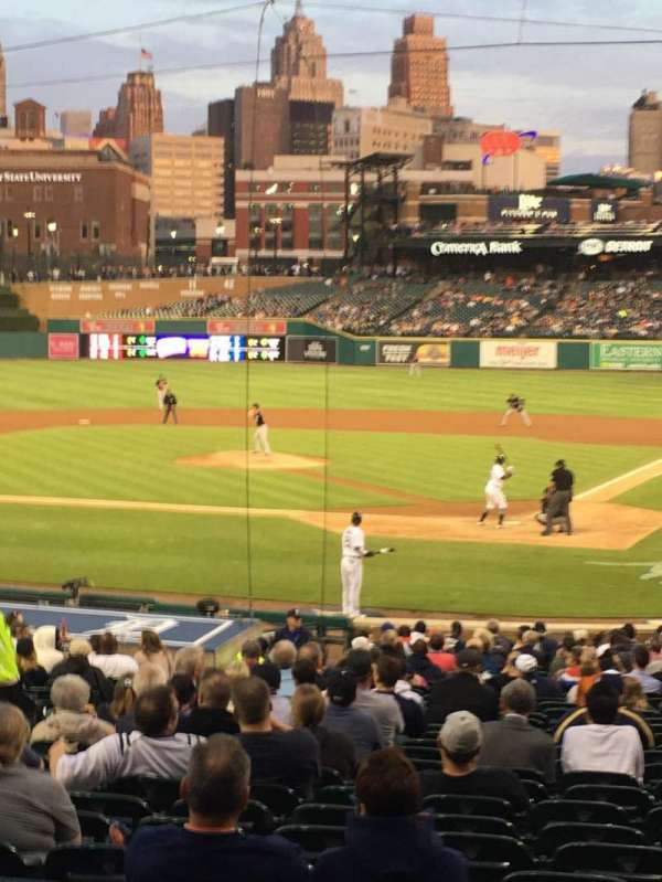 Comerica Park, section: 130, row: 31, seat: 11