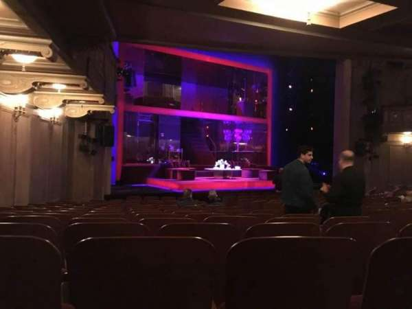Booth Theatre, section: Orchestra L, row: N, seat: 11
