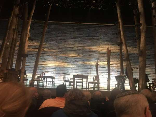 Gerald Schoenfeld Theatre, section: Orchestra C, row: D, seat: 108