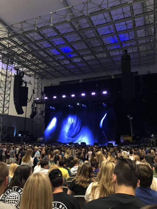 Daily's Place, section: 107, row: M , seat: 8