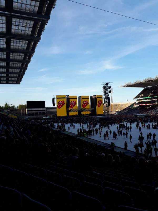 Croke Park, section: 324, row: HH, seat: 23