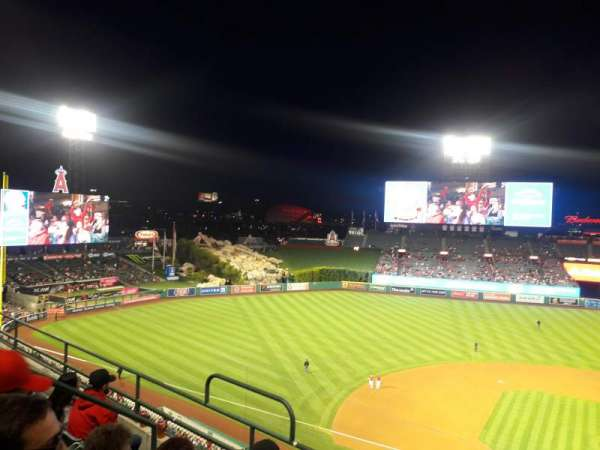 Angel Stadium, section: V413, row: E, seat: 6