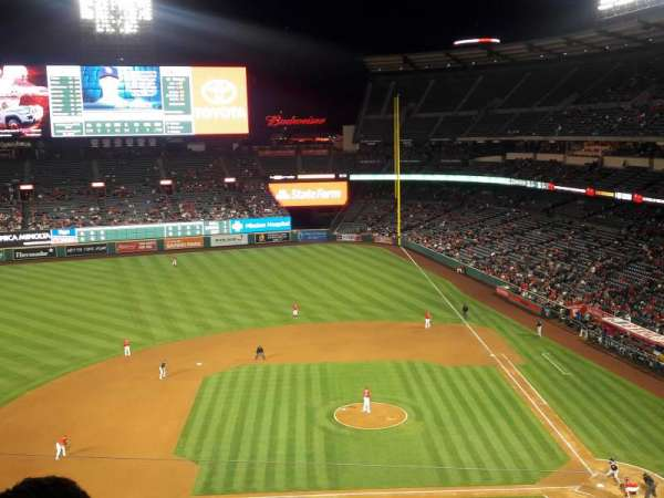 Angel Stadium, section: V413, row: D, seat: 7