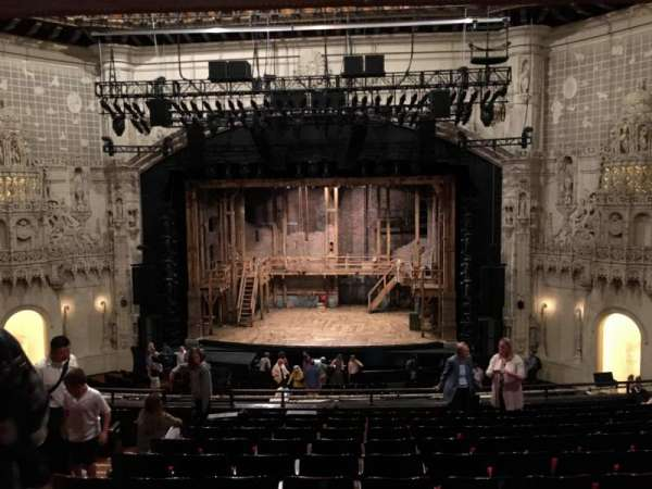 Orpheum Theatre (San Francisco), section: MEZZANINE RC, row: L, seat: 110