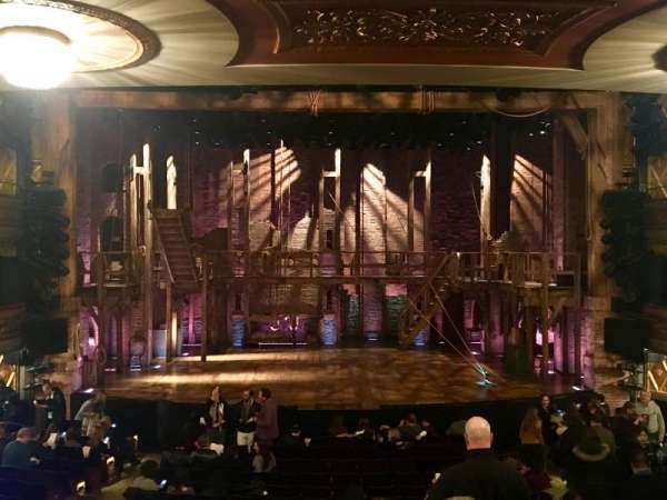 Richard Rodgers Theatre, section: Orchestra C, row: R, seat: 108