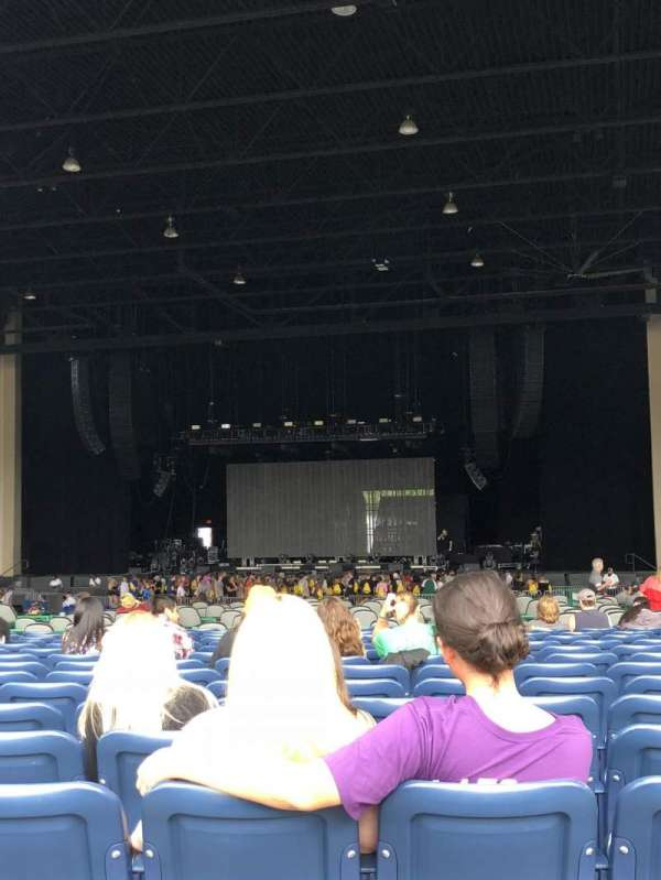 Coastal Credit Union Music Park at Walnut Creek, section: 6, row: Y, seat: 9
