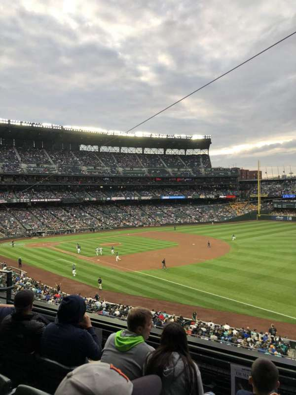 T-Mobile Park, section: 215, row: 4, seat: 6