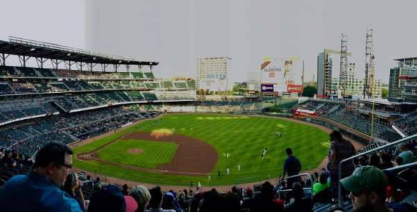 Truist Park, section: 318, row: 10, seat: 4
