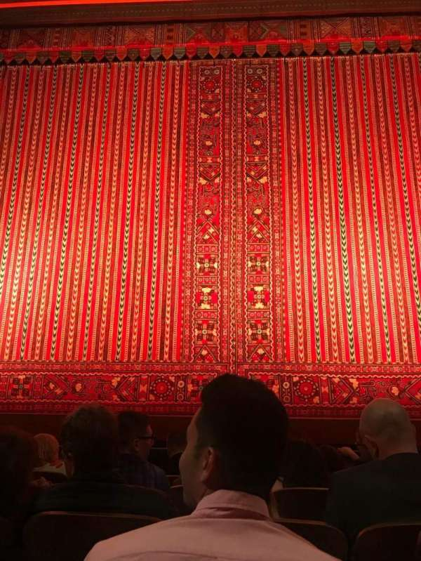 New Amsterdam Theatre, section: Orchestra C, row: E, seat: 107