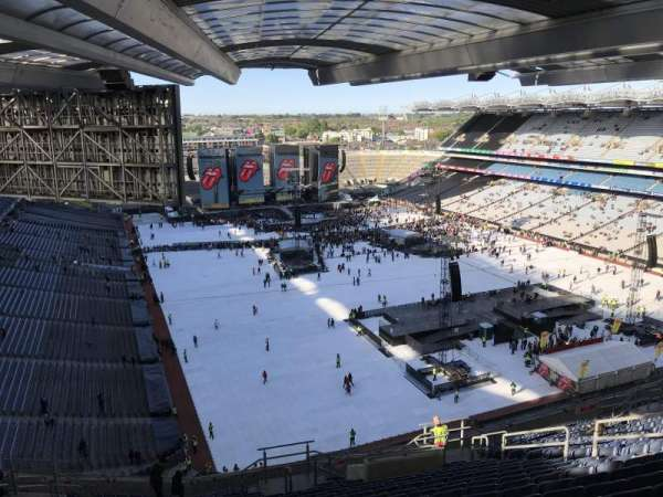 Croke Park, section: 722, row: Y, seat: 28