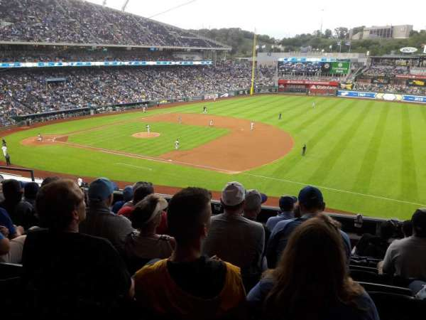 Kauffman Stadium, section: 320, row: G, seat: 10