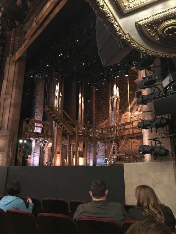 CIBC Theatre, section: Orchestra R, row: F, seat: 20