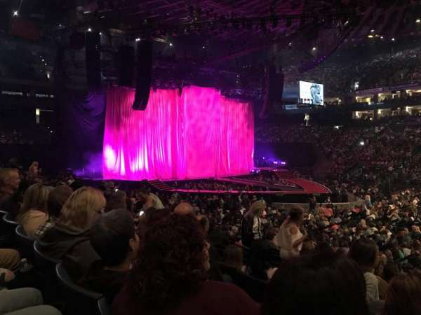 Oracle Arena, section: 114, row: 12, seat: 1
