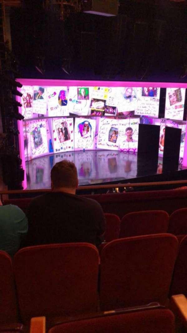 August Wilson Theatre, section: Mezzanine L, row: D, seat: 17