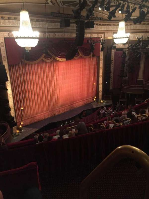 Imperial Theatre, section: Rear Mezzanine 5, row: B, seat: 2