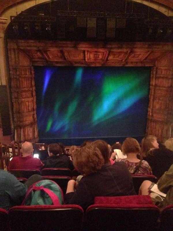 St. James Theatre, section: Mezzanine C, row: L, seat: 114