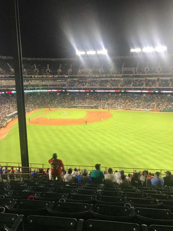 Globe Life Park in Arlington, section: 249, row: 21, seat: 12