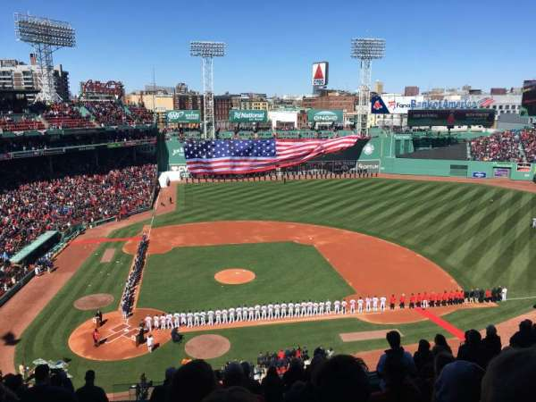 Fenway Park, section: Pavilion Box 3, row: E, seat: 15