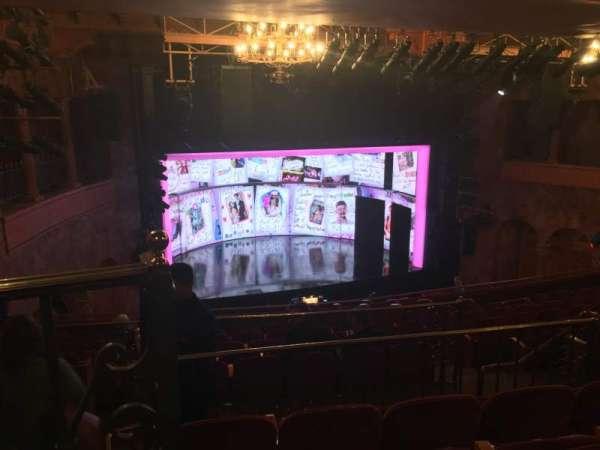 August Wilson Theatre, section: Mezzanine L, row: L, seat: 13