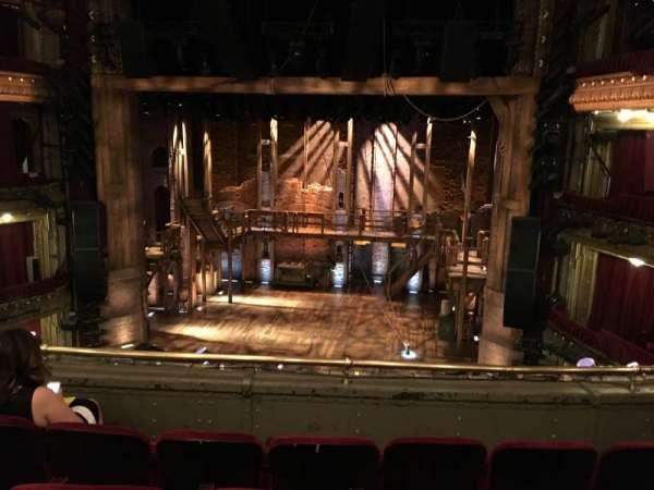 CIBC Theatre, section: Mezzanine RC, row: D, seat: 312