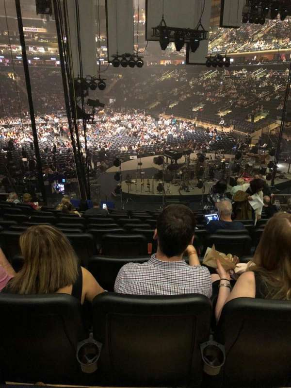 Madison Square Garden, section: 111, row: 17, seat: 13