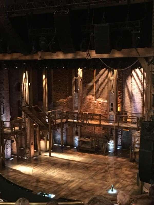 CIBC Theatre, section: Mezzanine R, row: F, seat: 16
