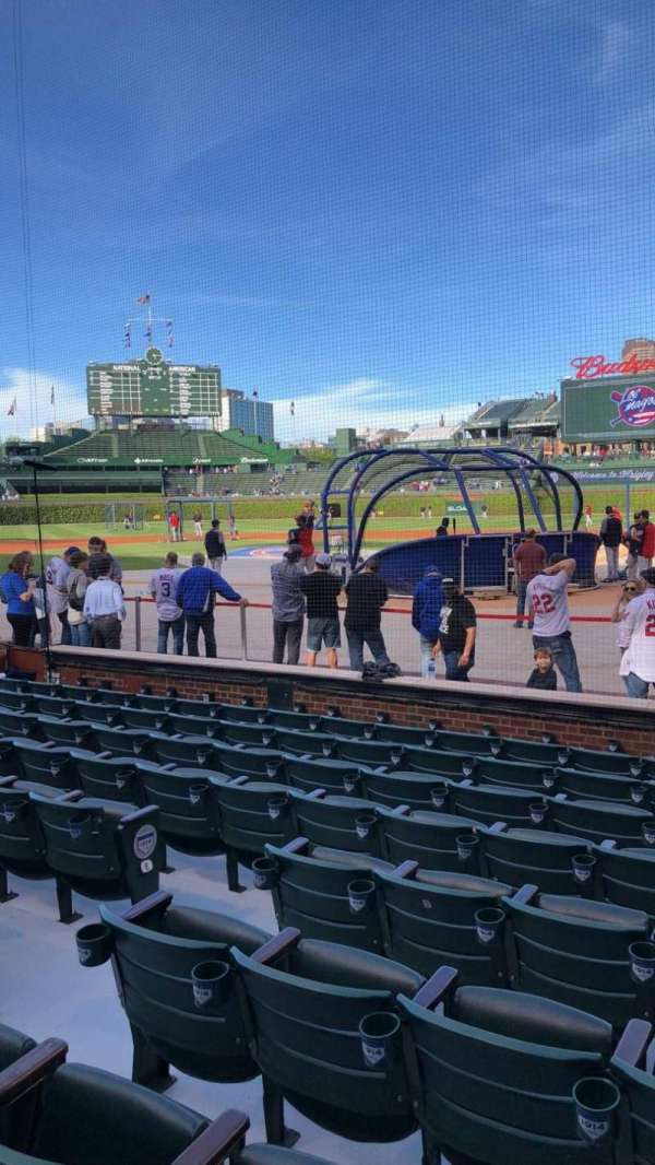 Wrigley Field, section: 18, row: 13, seat: 3