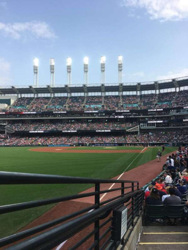 Progressive Field, section: 179, row: N, seat: 1