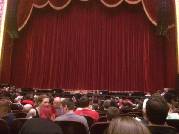 Peabody Opera House, section: Orchestra Center Right, row: N, seat: 5
