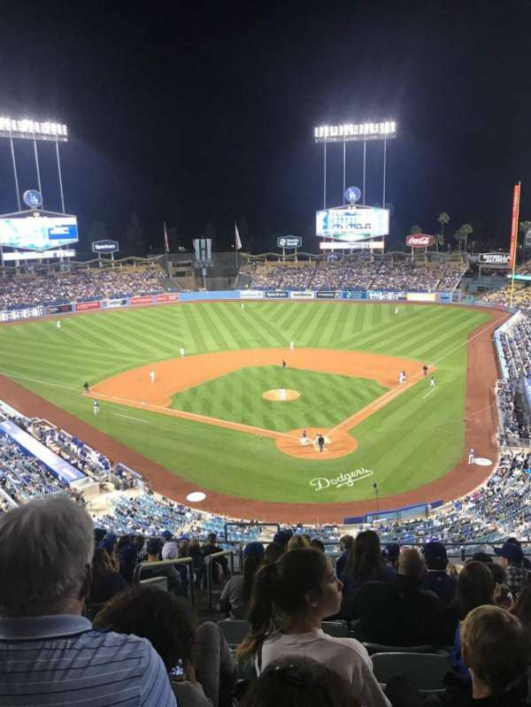 Dodger Stadium, section: 3RS, row: N, seat: 22