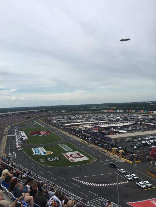 Charlotte Motor Speedway, section: Ford, row: 58, seat: 19