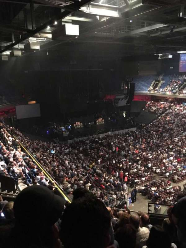 Mohegan Sun Arena, section: 115, row: M, seat: 10