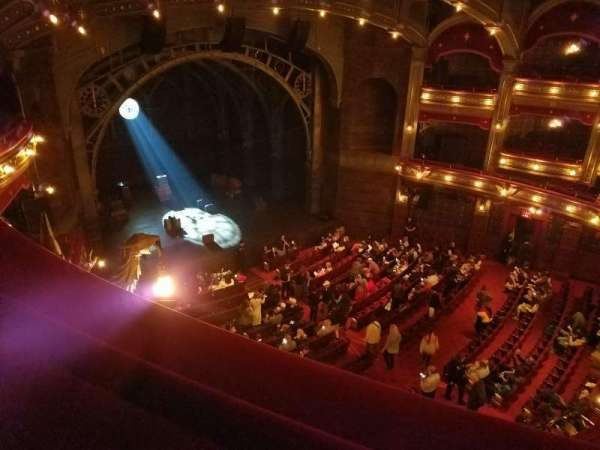 Lyric Theatre, section: Balcony L, row: A, seat: 25
