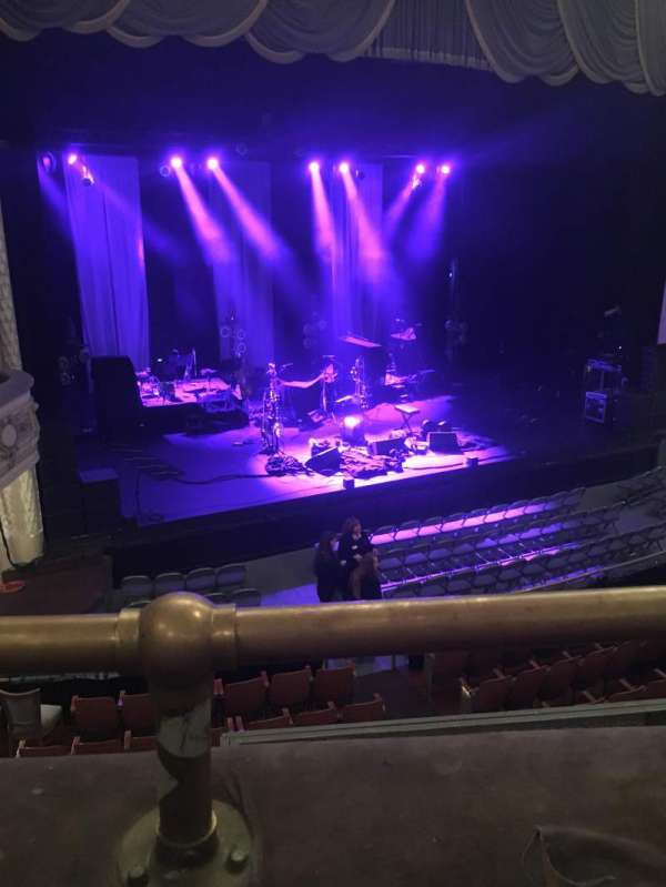 Merriam Theater, section: Balcony, row: A, seat: 17
