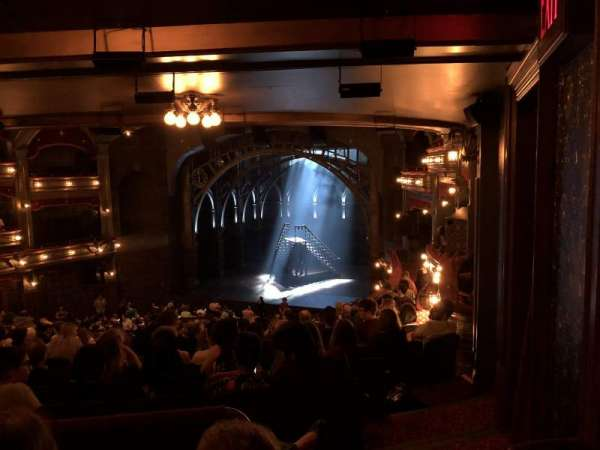 Lyric Theatre, section: Dress Circle R, row: L, seat: 14