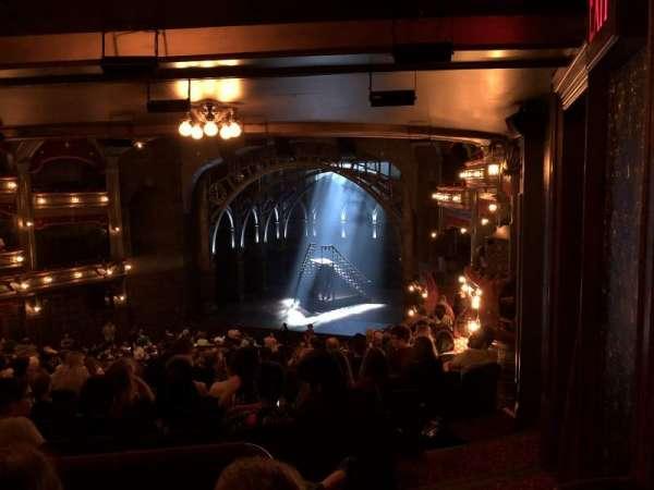 Lyric Theatre, section: Dress Circle R, row: L, seat: 14