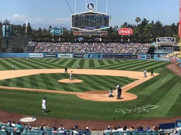 Dodger Stadium, section: 111LG, row: B, seat: 1