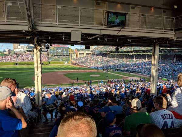 Wrigley Field, section: 210, row: 19, seat: 2