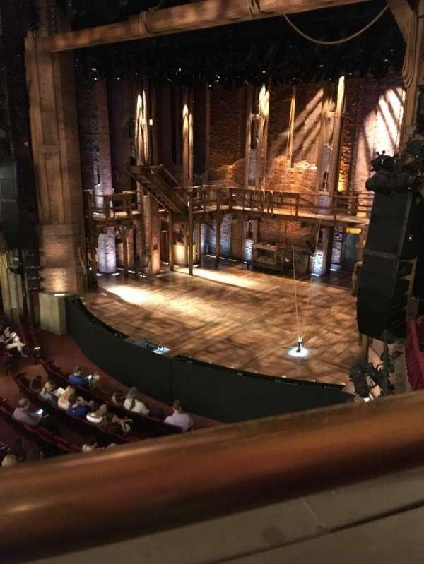 CIBC Theatre, section: Mezzanine R, row: A, seat: 12