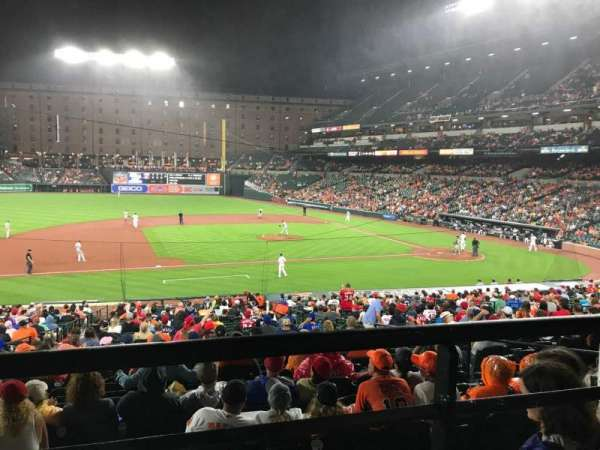 Oriole Park at Camden Yards, section: 53, row: 1, seat: 14
