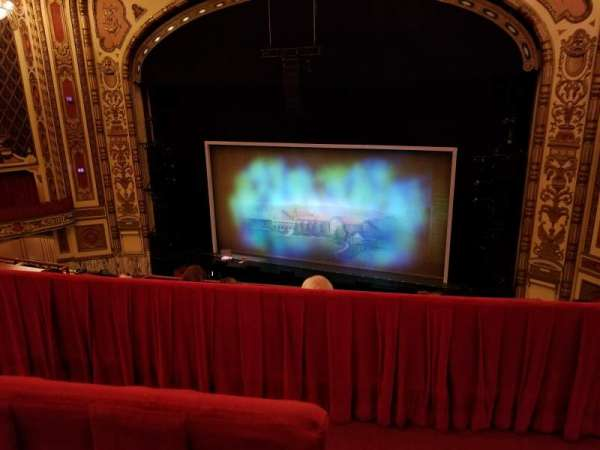 Cadillac Palace Theater, section: Balcony RC, row: D, seat: 328