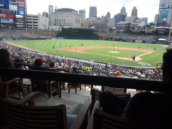 Comerica Park, section: 130, row: G, seat: 4
