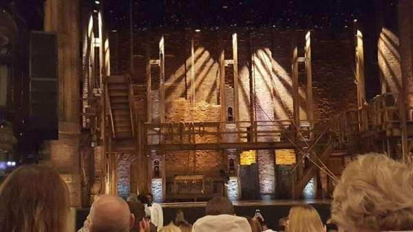 CIBC Theatre, section: orchestra center, row: S, seat: 103-104