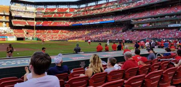 Busch Stadium, section: 157, row: F, seat: 12